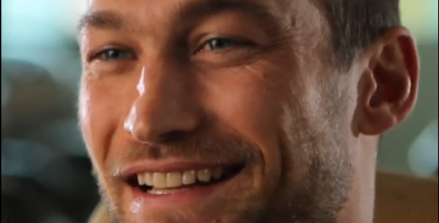 Be here now: il racconto dell'ultima battaglia di Andy Whitfield [VIDEO]