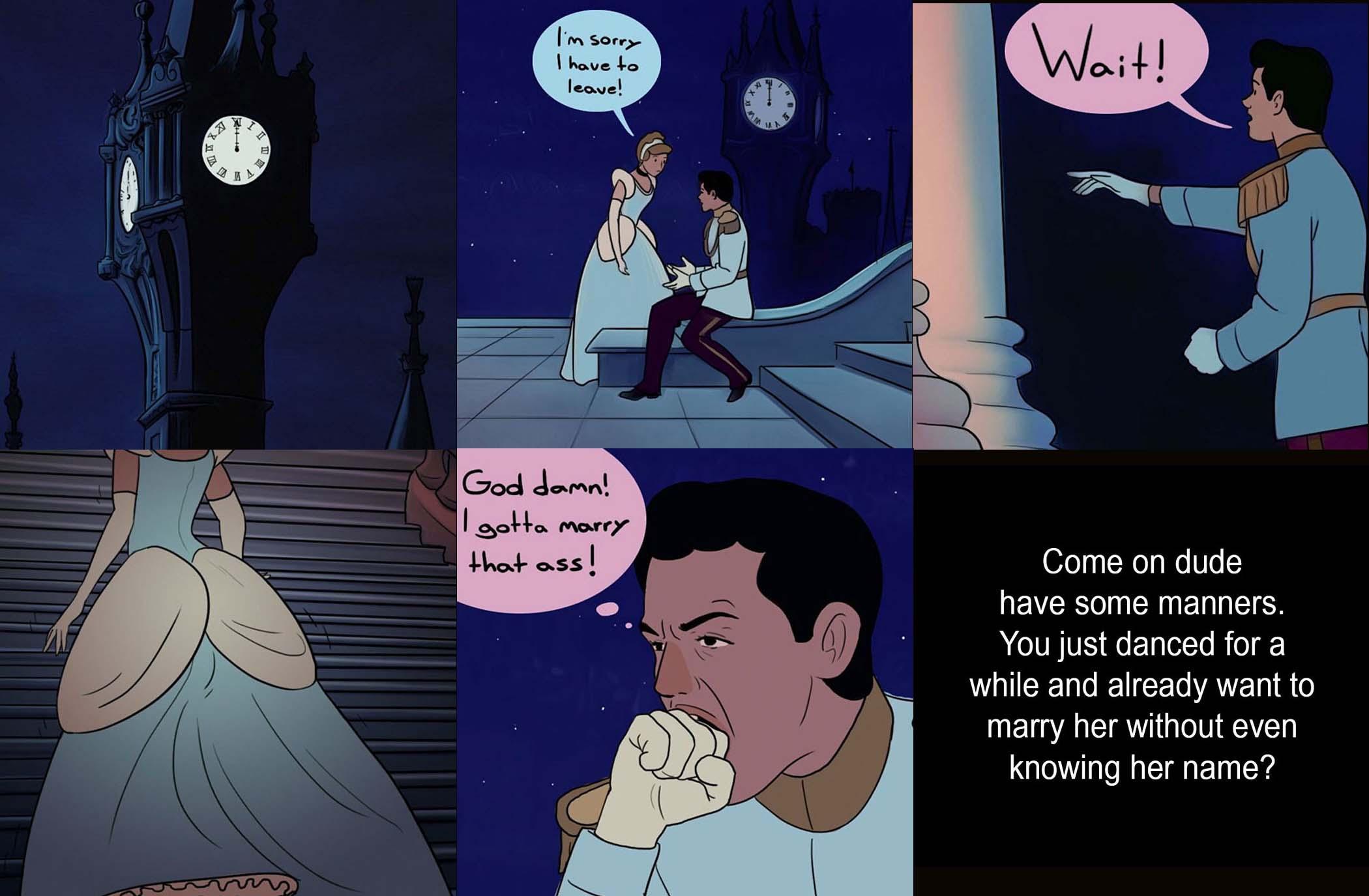 Come sarebbero andate le favole Disney nella realtà