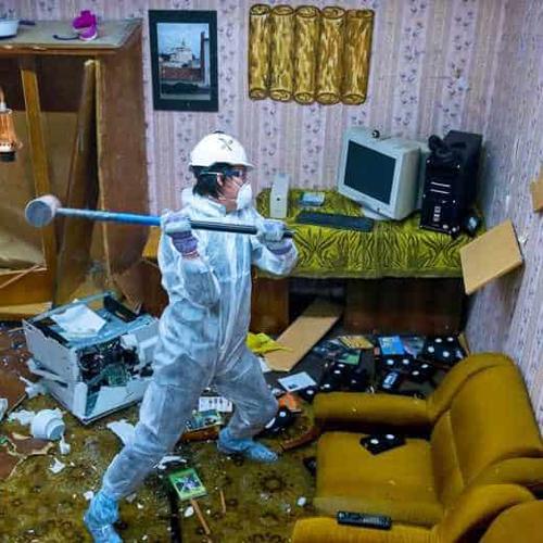 Rage Room, quelle stanze per quando ti viene voglia di spaccare tutto
