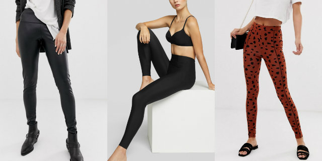 "Leggings autunno/inverno 2019/2020: dai modelli ""rock"" ai push-up"