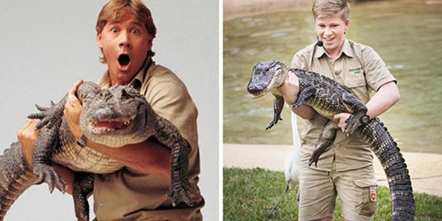 """Tale padre, tale figlio: 14 immagini di Robert Irwin, figlio di """"Crocodile Hunter"""""""