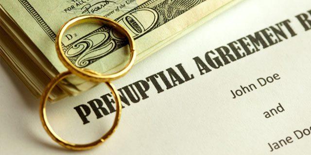 accordi prematrimoniali
