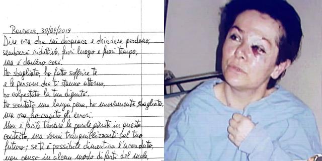"""""""Vivi con serenità"""": la lettera di Fabbri alla donna che cercò di uccidere"""