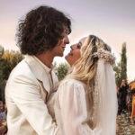 Le splendide nozze a sorpresa di Carolina Crescentini e Francesco Motta
