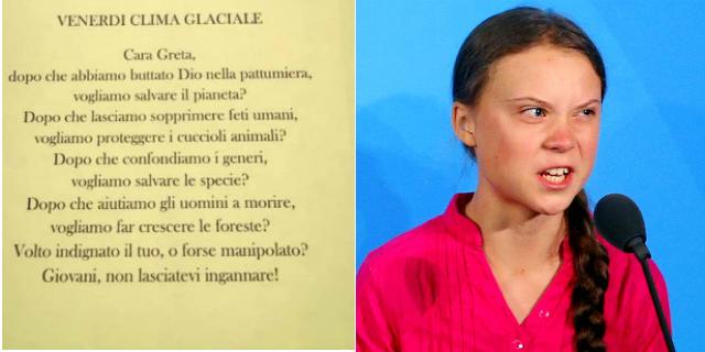 Il feroce post di Radio Maria contro Greta Thunberg e i diritti di tutti noi