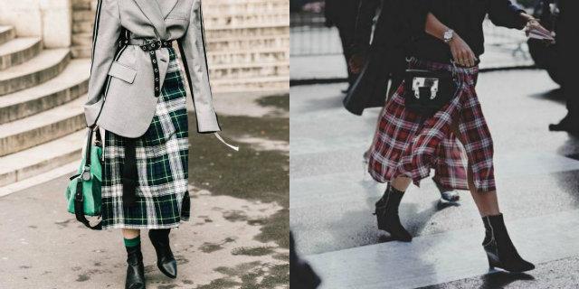 Gonna scozzese: la sua storia, come abbinarla e le tendenze moda