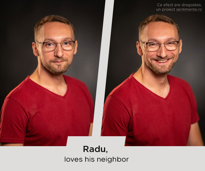 Che faccia ha l'amore? Il volto di 9 persone prima e dopo aver visto chi amano