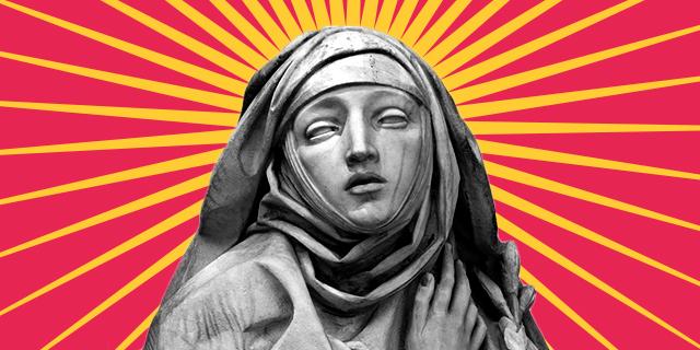 """Caterina, la Santa un po' """"strega"""" un po' """"strana"""" che diceva ai papi cosa fare"""