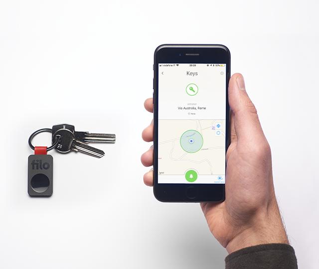 Filo, il gadget che ti fa ritrovare la chiavi, la macchina e quello che perdi