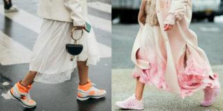 vestiti e scarpe da ginnastica