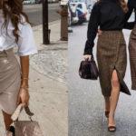 Gonna a portafoglio: la sua storia, come abbinarla e le tendenze moda