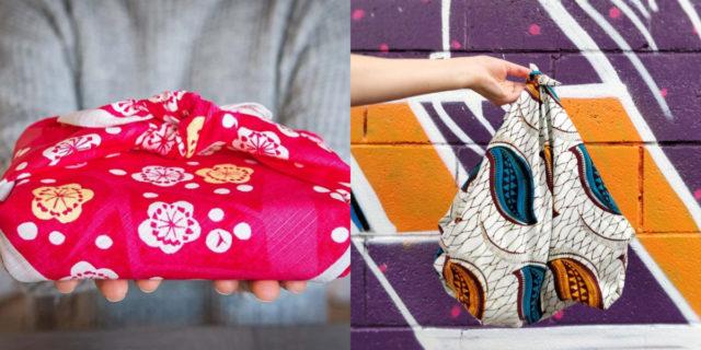 Furoshiki: come fare pacchetti, portatorte e borse con i foulard