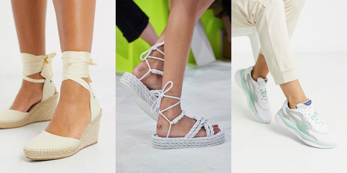Tendenza moda scarpe e sandali colore rosa