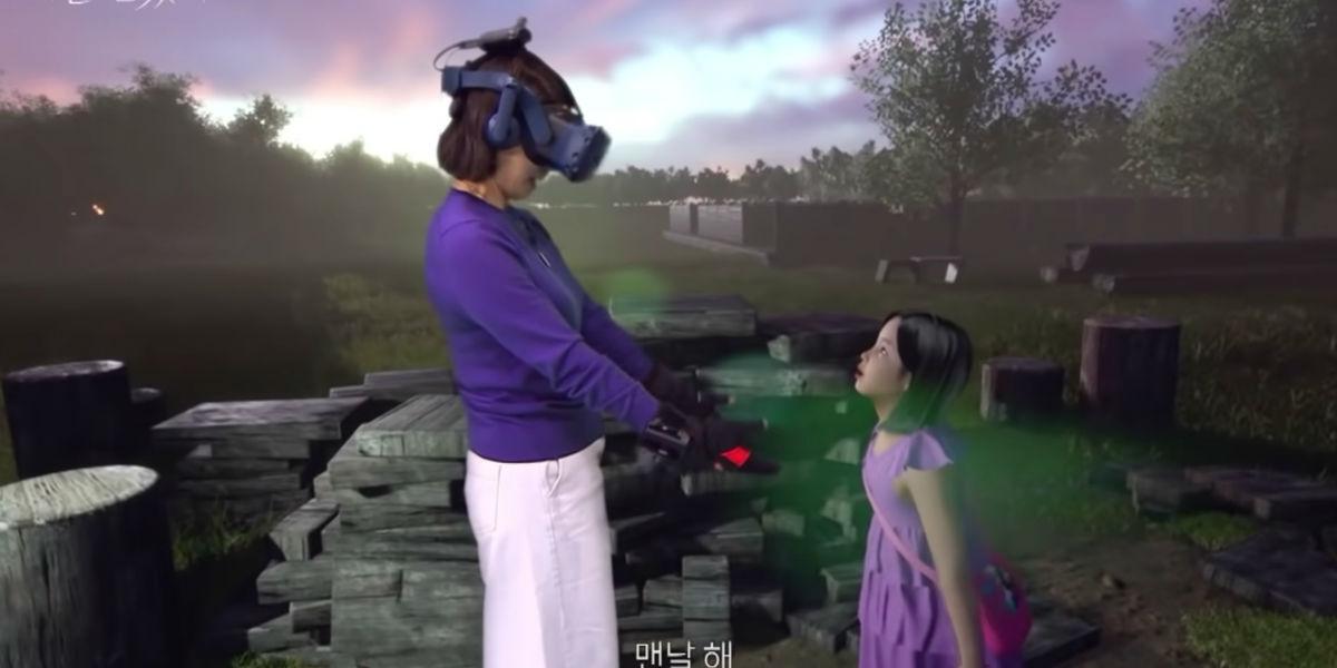 La mamma incontra la figlia morta grazie alla realtà virtuale