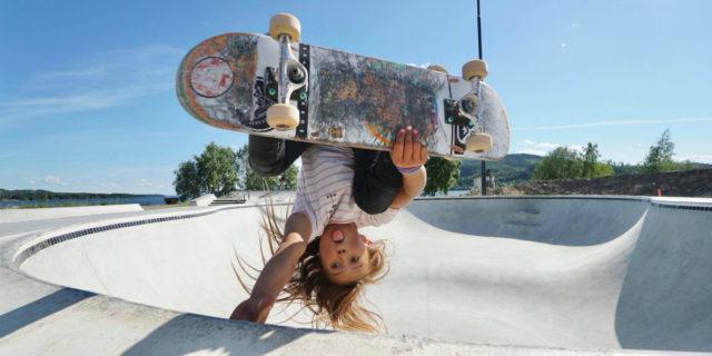 Sky Brown, la skater (ma non solo) di 11 anni che sogna le Olimpiadi