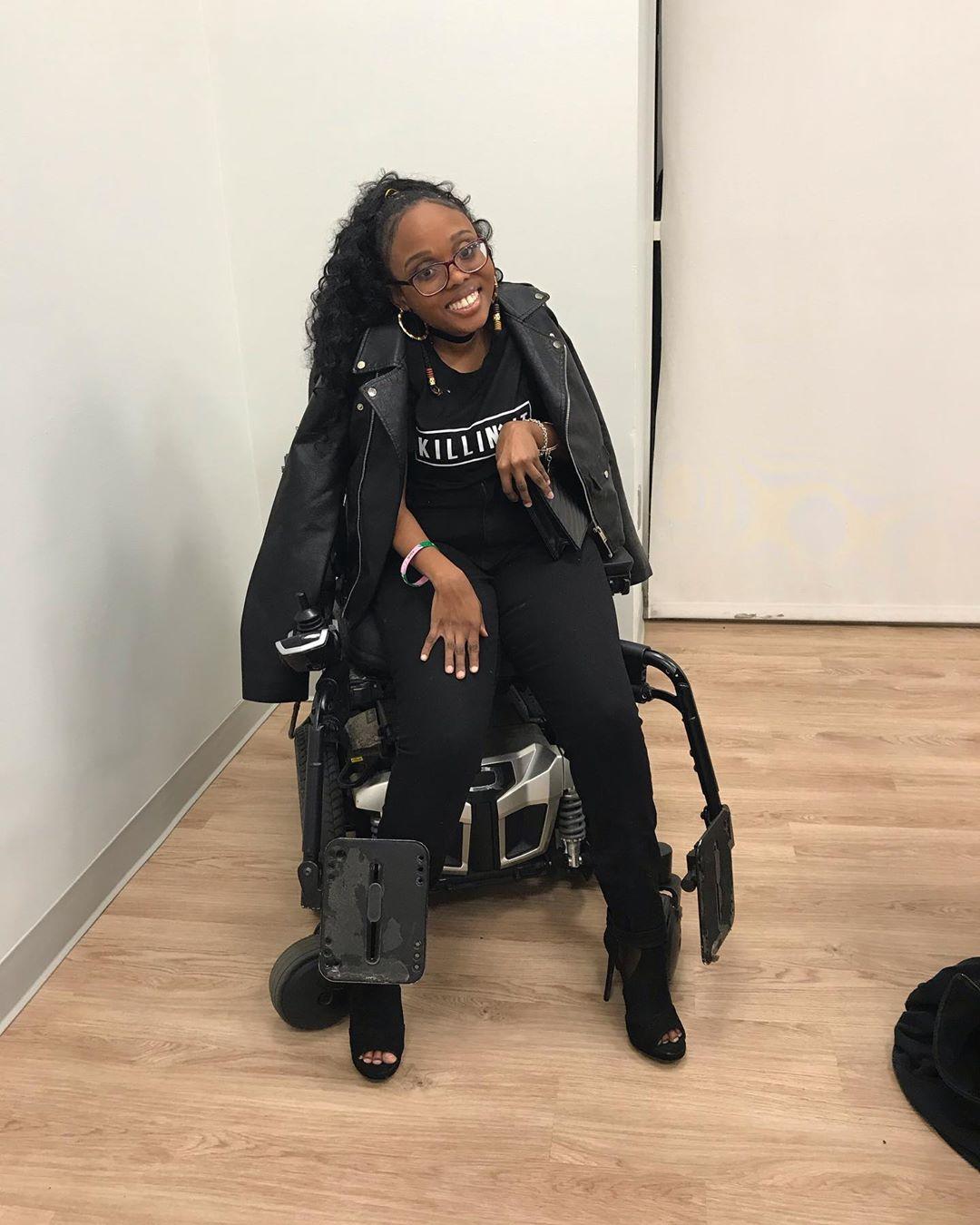 """""""Anche se sono disabile sono sempre una donna, una donna sexy"""""""