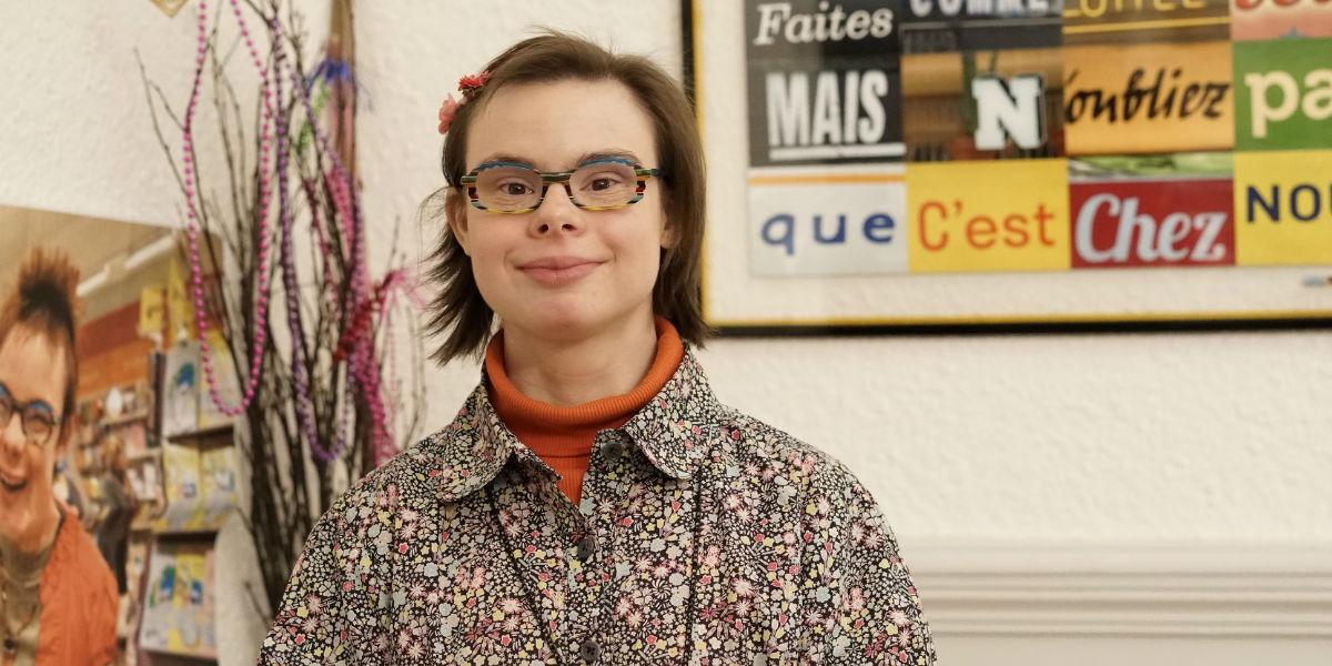 Eleonore Laloux, la prima candidata con sindrome di Down della storia repubblicana