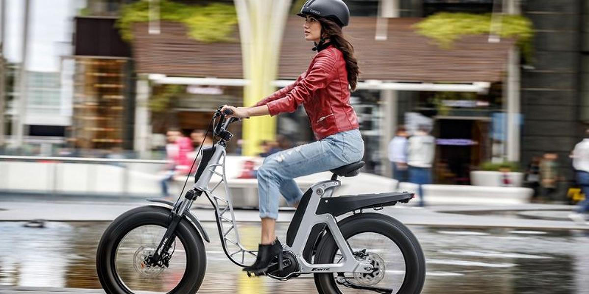 bici elettrica donna