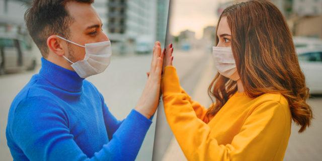 Innamorati a distanza: storie di amanti divisi dal Coronavirus