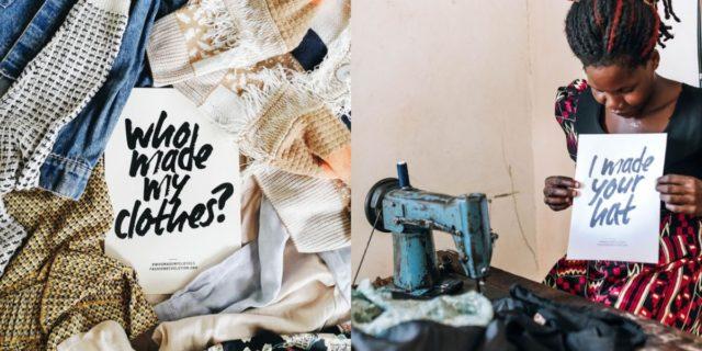 Fashion revolution: ti sei mai chiesto chi cuce i tuoi vestiti?