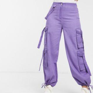 pantaloni cargo donna