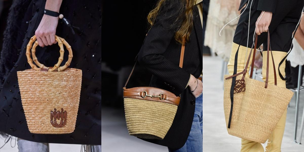 borse di paglia