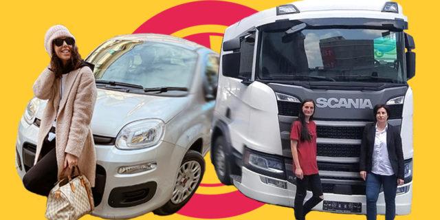 Donne e motori: storie di ragazze che guidano e cambiano le gomme
