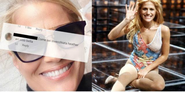 """La risposta di Heather Parisi a chi le ha scritto: """"Come sei invecchiata, eri così bella"""""""
