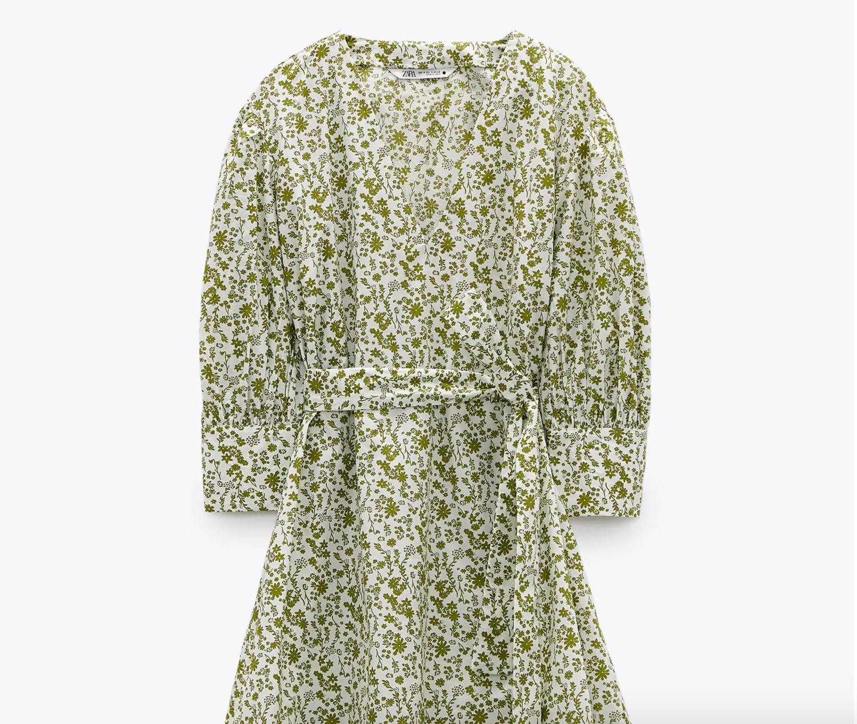 L'abito di Zara indossato da Chiara Ferragni costa meno di 40€ ed è perfetto