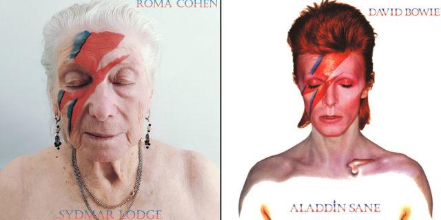 Gli ospiti della residenza per anziani riproducono 12 copertine rock