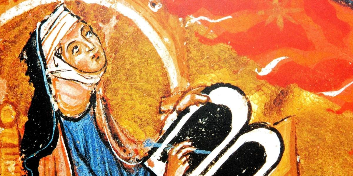 Il mondo come una vulva di Ildegarda di Bingen, la santa che glorificava l'orgasmo