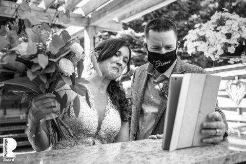 Le migliori 25 foto di matrimonio durante la pandemia