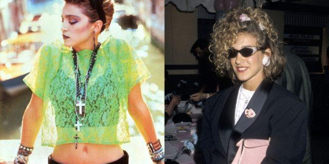 Tra i capi fluo e Madonna, l'indimenticabile moda degli anni '80