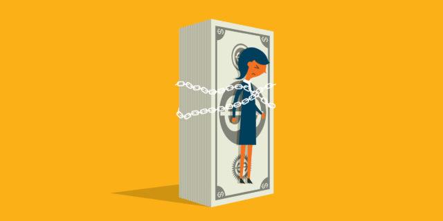 Il rapporto delle donne con i soldi, dati alla mano