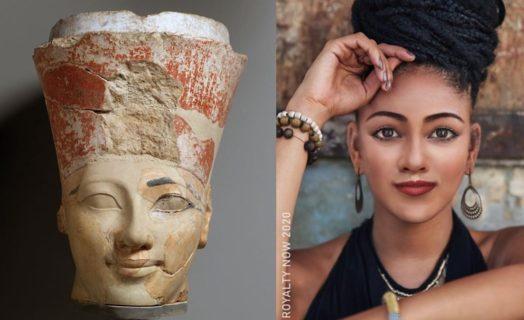 Come sarebbero Nefertiti e altre figure storiche se vivessero nel 2021