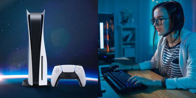 Tutte pazze per le PS5 (e non solo): il gaming è per quasi la metà donna