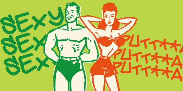 Corpi e doppio standard: la favola dell'uomo latin lover e della donna put**na