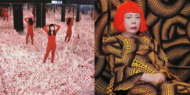 Yayoi Kusama, campi di falli e di tentacoli: le ossessioni di una mente a pois