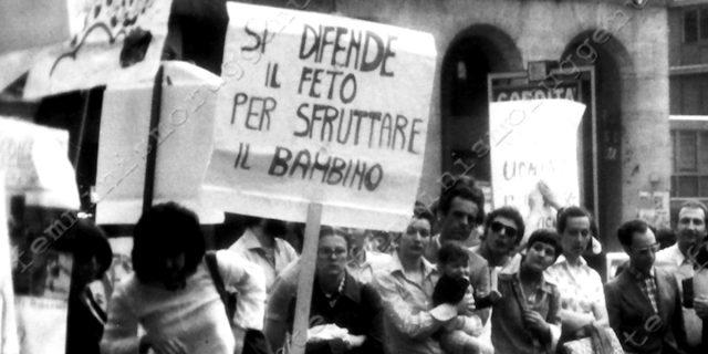 Gigliola Pierobon: processata e condannata per aver abortito senza essersi pentita
