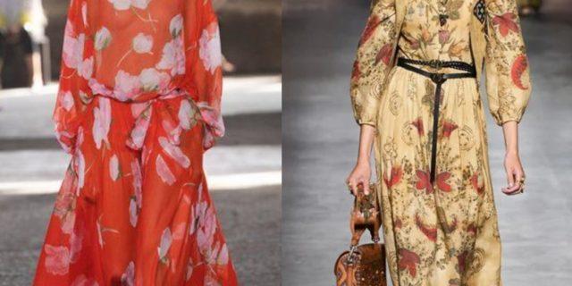 Vestiti floreali: storia, tipologie e tendenze