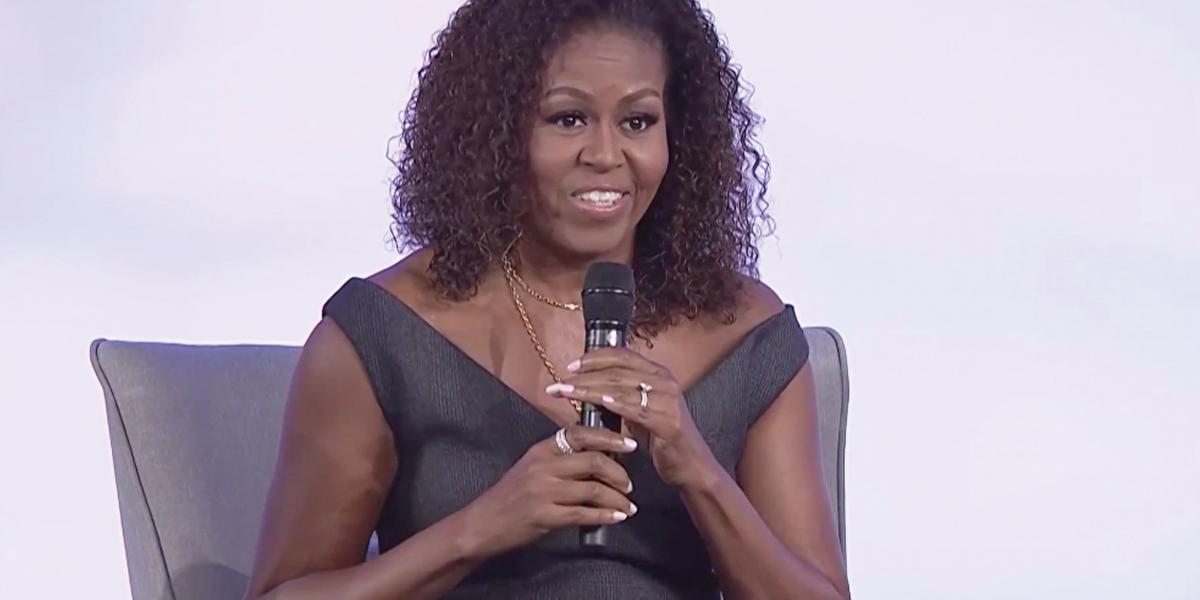 Michelle Obama white flight
