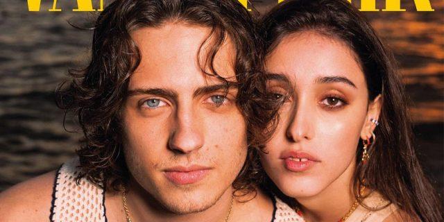 Sangiovanni e Giulia Stabile, l'amore più bello in copertina su Vanity Fair