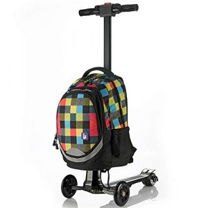 WNZL trolley bambino con monopattino incorporato