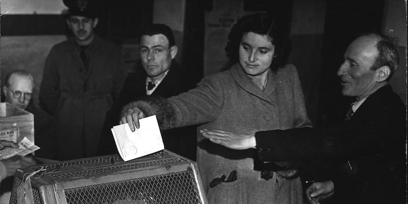 donne al voto rossetto