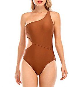 One shoulder trikini