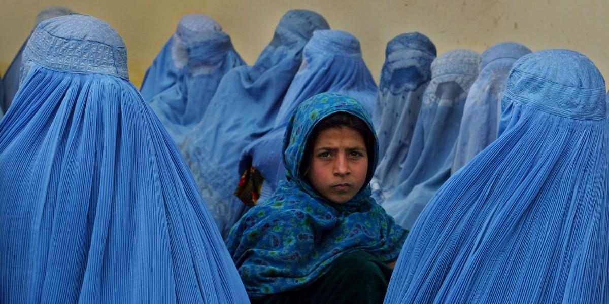 Burqa, Afghanistan