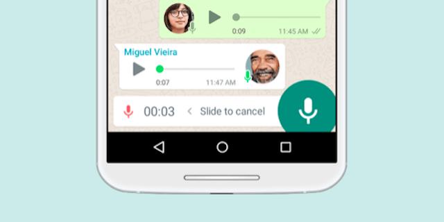 Whatsapp: per i messaggi vocali non serve più tenere premuto il dito