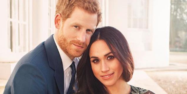 Il principe Harry e Meghan Markle condividono le foto ufficiali del fidanzamento