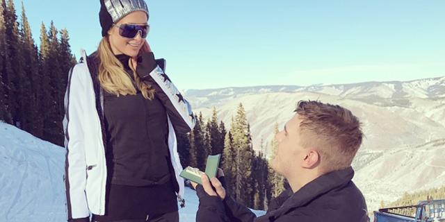 Paris Hilton si sposa: il maxi diamante di fidanzamento