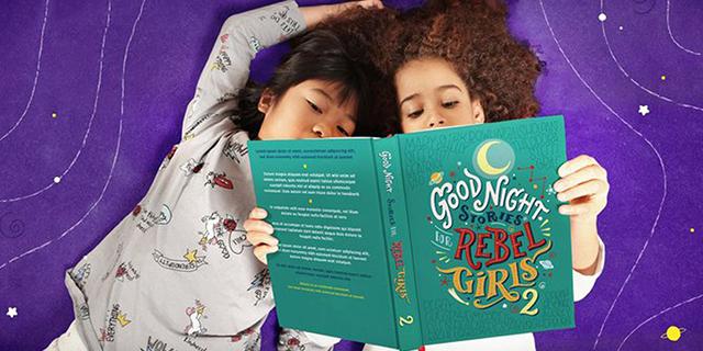 Arriva il secondo volume di Storie della buonanotte per bambine ribelli
